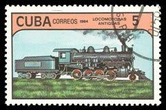 Chemins de fer cubains photos stock