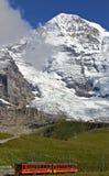 Chemins de fer de Jungfrau Images libres de droits