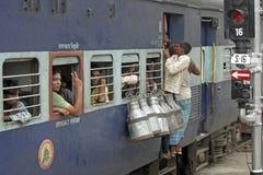 Chemins de fer indiens Images libres de droits