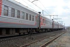 Chemins de fer russes (RZD) Photos stock