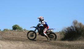 Chemins de moto Photos stock