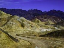 Chemins napolitains en parc national de Death Valley photo libre de droits