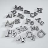 Chemisch elementensymbool Royalty-vrije Stock Afbeelding