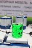 Chemisch glas. Royalty-vrije Stock Foto