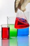 Chemisch glaswerk Royalty-vrije Stock Afbeelding