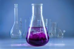 Chemisch glaswerk Stock Foto