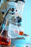 Chemisch laboratorium Stock Foto's