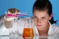 Chemisch onderzoek 01 Stock Afbeelding