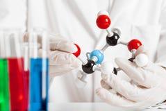 Chemisch onderzoek Stock Afbeelding