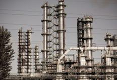 Chemisch product & Olieplant Stock Afbeelding
