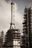 Chemisch product & Olieplant Royalty-vrije Stock Foto's