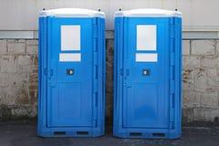 Chemisch toilet royalty-vrije stock afbeelding