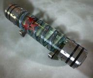 Chemisch wapen, container van de wapen de radioactieve capsule royalty-vrije illustratie