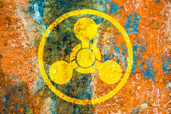 Chemisch Wapenssymbool Stock Fotografie