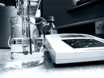 Chemische Analyse stock foto's