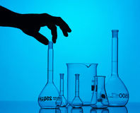 Chemische Ausrüstung Stockfoto