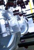Chemische distilleerderij royalty-vrije stock fotografie