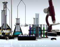Chemische Einheiten vektor abbildung