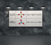 Chemische Elemente Stockbild