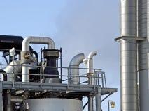 Chemische fabriek Stock Afbeelding