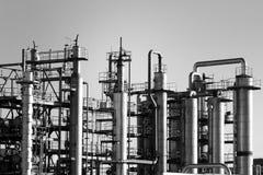 Chemische fabriek royalty-vrije stock afbeeldingen