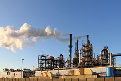 Chemische Fabrik Stockfoto