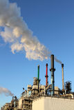 Chemische Fabrik in Europoort Lizenzfreie Stockfotos