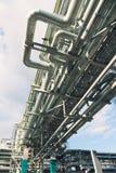 Chemische Fabrik, synthetischen Gummi produzierend Stockfoto