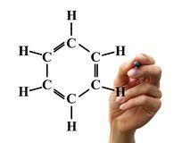 Chemische Formel Lizenzfreie Stockbilder