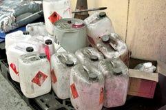 Chemische Gallone Lizenzfreie Stockbilder