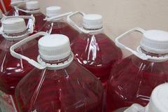 Chemische Gallone Lizenzfreie Stockfotografie