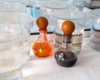 Chemische indicatoren Stock Afbeelding