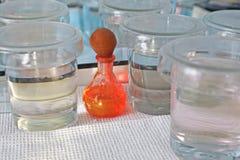 Chemische indicatoren Stock Afbeeldingen