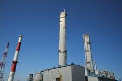 Chemische industriële plaats Stock Foto's