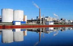 Chemische Industrie Royalty-vrije Stock Afbeelding