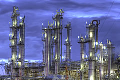 Chemische Installatie Stock Foto