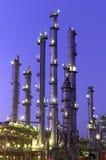 Chemische Kontrolltürme Stockfotografie