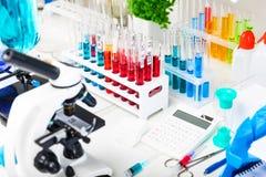 Chemische Laborausrüstung Lizenzfreies Stockfoto