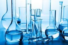 Chemische Laborglaswaren Lizenzfreie Stockbilder