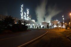Chemische olieplant Stock Afbeeldingen