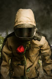 Chemische oorlogvoering Royalty-vrije Stock Foto's