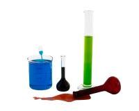Chemische producten Royalty-vrije Stock Afbeeldingen