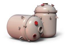 Chemische reactor royalty-vrije illustratie