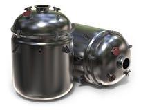 Chemische reactor stock illustratie