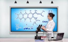 Chemische regeling Royalty-vrije Stock Afbeeldingen