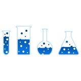 Chemische test-buis Stock Fotografie