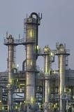 Chemische Torens Royalty-vrije Stock Afbeeldingen