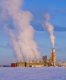 Chemische Verarbeitungsanlage Stockfotos