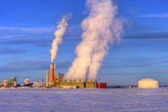 Chemische Verarbeitungsanlage Lizenzfreie Stockfotografie