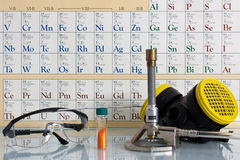 Chemische wetenschap Royalty-vrije Stock Fotografie